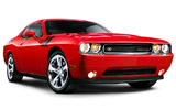 ALAMO Car rental North Chicago Luxury car - Dodge Challenger