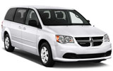 HERTZ Car rental Santa Cruz - Capitol Van car - Dodge Grand Caravan