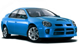 NU Car rental Las Vegas - Airport Compact car - Dodge Neon
