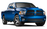 DOLLAR Car rental Sterling Luxury car - Dodge Ram Pickup