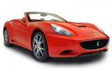 NOMADCAR Car rental Barcelona - Airport -terminal 2 Luxury car - Ferrari California