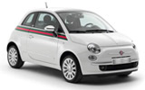 HERTZ Car rental Lugano Downtown Mini car - Fiat 500