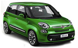 BUDGET Car rental Reykjavik - Keflavik International Airport Compact car - Fiat 500L