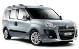 SIXT Car rental Ibiza - Airport Van car - Fiat Doblo