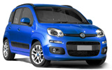 BUDGET Car rental St. Julians - Downtown Economy car - Fiat Panda