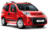 INTERRENT Car rental Rome - Airport - Fiumicino Van car - Fiat Qubo