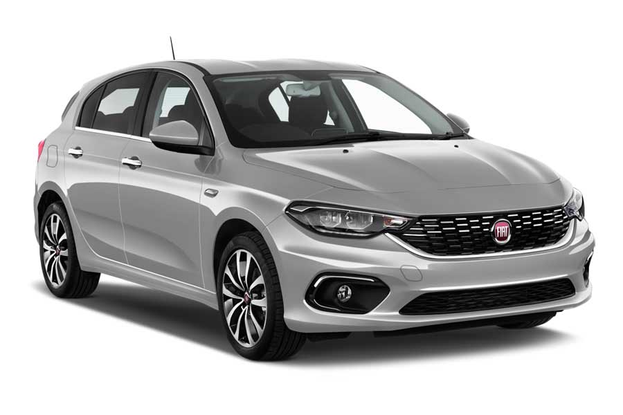 ABBYCAR Car rental Paros Compact car - Fiat Tipo