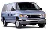 HERTZ Car rental Austin - North West Van car - Ford Clubwagon