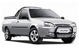 BUDGET Car rental Suva - Walu Bay Van car - Ford Courier Double Cab
