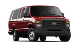 DOLLAR Car rental Santa German Centre Van car - Ford E350