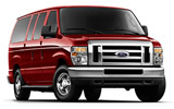 BUDGET Car rental Rosemont Van car - Ford Econoline