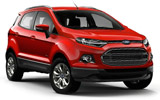 AVIS Car rental New Delhi - Downtown Suv car - Ford Ecosport