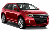 BUDGET Car rental Chelsea Suv car - Ford Edge