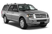 BUDGET Car rental San Francisco - Sunset District Suv car - Ford Expedition