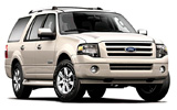 BUDGET Car rental Las Vegas - Airport Suv car - Ford Expedition EL