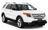 BUDGET Car rental Yorkville Suv car - Ford Explorer