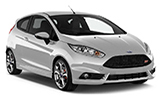 BUDGET Car rental Santa Cruz - Capitol Economy car - Ford Fiesta