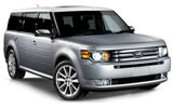 NATIONAL Car rental Mcallen Miller International Airport Suv car - Ford Flex