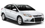 BUDGET Car rental Wichita Airport Compact car - Ford Focus