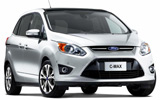 HERTZ Car rental Naples - Train Station Van car - Ford Focus C-Max