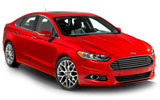BUDGET Car rental Cohasset Fullsize car - Ford Fusion