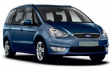 HERTZ Car rental Lugano Downtown Van car - Ford Galaxy