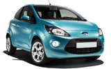 HERTZ Car rental Zaventem Downtown Mini car - Ford Ka