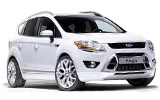 HERTZ Car rental Lugano Downtown Suv car - Ford Kuga