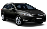HERTZ Car rental Rotterdam - Railway Station Standard car - Ford Mondeo Estate