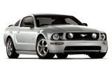 MEX Car rental Cozumel - Airport Standard car - Ford Mustang