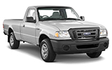 TEMPEST Car rental Cape Town - Airport Van car - Ford Ranger
