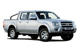 BIDVEST Car rental Durban - Airport - King Shaka Van car - Ford Ranger Double Cab