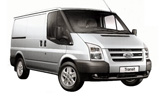 AVIS Car rental Stralsund Van car - Ford Transit SWB Van
