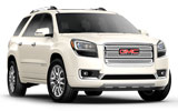 AVIS Car rental Fort Mc Murray Suv car - GMC Acadia
