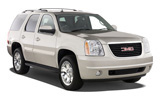 SIXT Car rental Kuwait Downtown Suv car - GMC Yukon