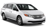 BUDGET Car rental Muscat - Downtown Van car - Honda Odyssey