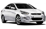 MEX Car rental Tulum - Central Economy car - Hyundai Accent