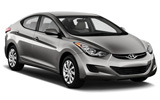 BUDGET Car rental Costa Adeje - El Duque Aparthotel - Hotel Deliveries Standard car - Hyundai Elantra