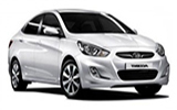 CIRCULAR Car rental Antalya - Domestic Airport Compact car - Hyundai Era