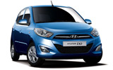 HERTZ Car rental Mexico City - Downtown Mini car - Hyundai i10