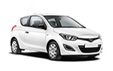 BUDGET Car rental Cape Town - Airport Economy car - Hyundai i20