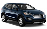 FOX Car rental Cesar Chavez - Downtown Suv car - Hyundai Santa Fe