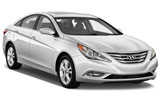 AVIS Car rental Amman International Airport - Queen Alia Standard car - Hyundai Sonata