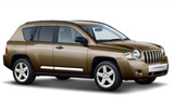 HERTZ Car rental Gilroy Suv car - Jeep Compass