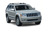 SIXT Car rental Salzburg Downtown Suv car - Jeep Grand Cherokee