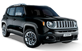 UNIRENT Car rental Lugano Downtown Suv car - Jeep Renegade