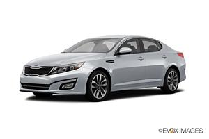 BUDGET Car rental Kuwait Downtown Standard car - Kia Optima