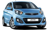 BUDGET Car rental Ostersund Airport Mini car - Kia Picanto