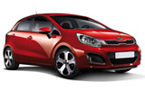 BUDGET Car rental Ystad Economy car - Kia Rio