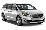 MEX Car rental Cozumel Van car - Kia Sedona